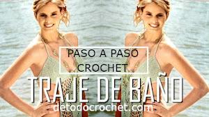 Traje de baño / Malla enteriza crochet