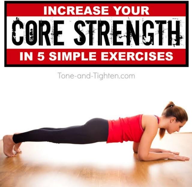 Core strengthening .