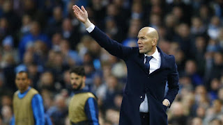 Zidane Manchester City Real Madrid