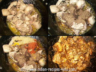 Chicken Karchi Kadhai Recipe