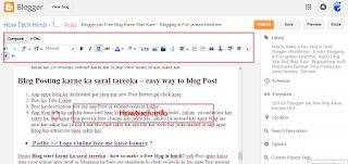 Easy ways to Blog Post