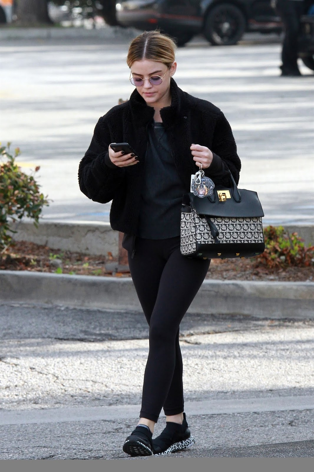 Lucy Hale Out and About in Studio City - 11/01/2019