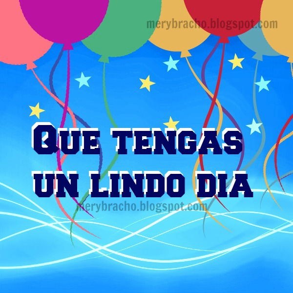 tarjeta con globos celebracion feliz dia del niño cumpleanos