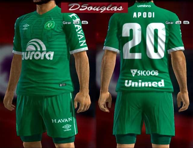 Chapecoense 2018-19 Kit PES 2013