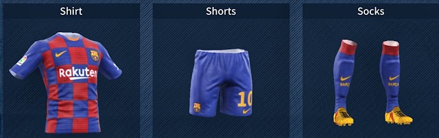 FC Barcelona 2019-20 New Kits & Logo - Dream League Soccer