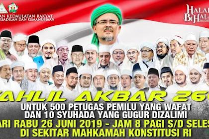Habib Rizieq Shihab Pakat Umat Ban Sigom Indonesia Jak Aksi 266 u Jakarta