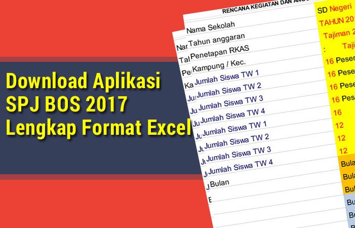Download Aplikasi SPJ BOS 2017