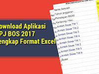 Download Aplikasi SPJ BOS 2017 Lengkap Format Excel