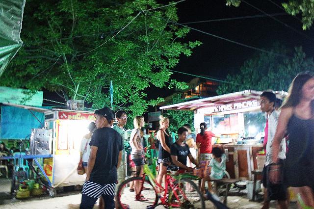 pasar malam gili trawangan