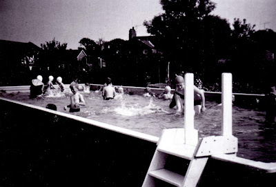Swimming in the new pool at Brigg County Primary School  in 1965