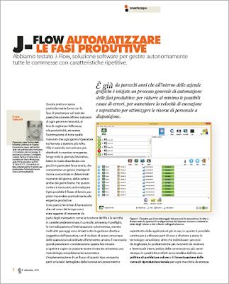 J-Flow, automatizzare le fasi produttive
