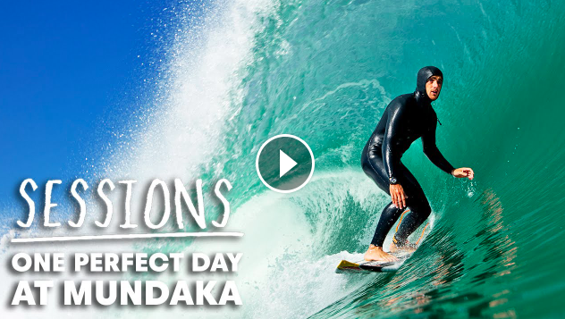 Hurricane Epsilon Brings Perfect Barrels To Europe s Best Point Break Sessions