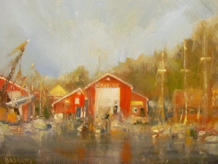 Американская художница-пейзажист. Jill Basham