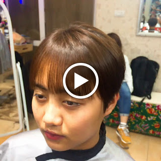 """Tiết lộ """"cực sốc"""" khi đi cắt tóc ngắn tomboy tại Korigami Hà Nội"""