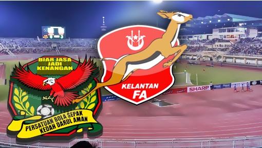 Live Streaming Kelantan Vs Kedah Piala Malaysia 18 Julai 2017