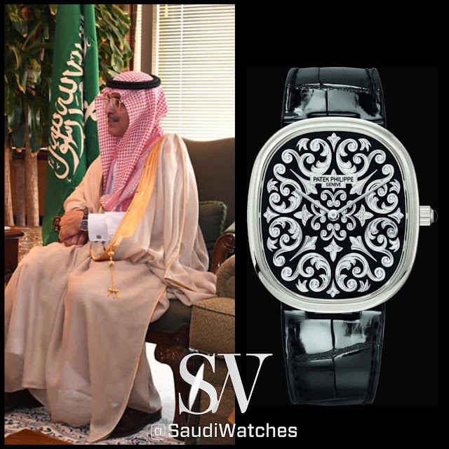 ساعة معالي وزير المالية السعودي