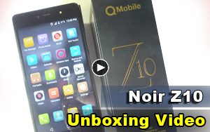QMobile Noir Z10 is now getting a software update - MobileAreena