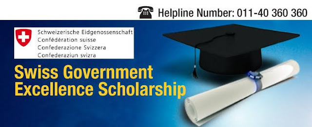 Swiss Government Excellence Scholarships 2019-20 For Foreign Scholars & Artists