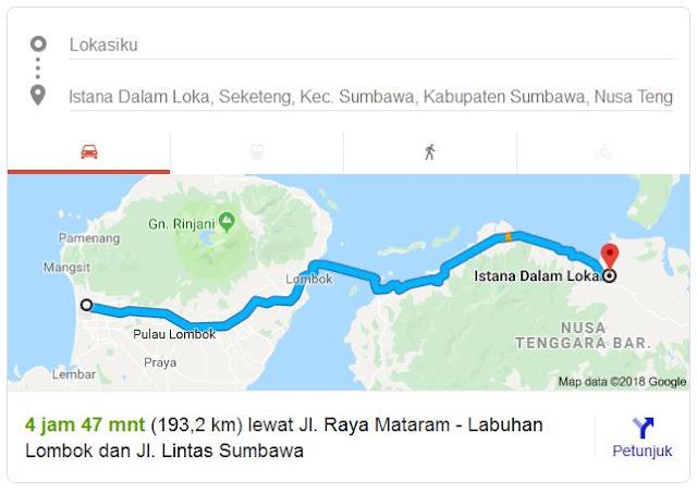 Informasi Seputar Istana Dalam Loka Sumbawa