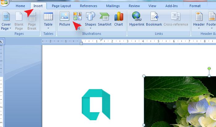 Cara Membuat Gambar Atau Logo Menjadi Hitam Putih Di MS Word