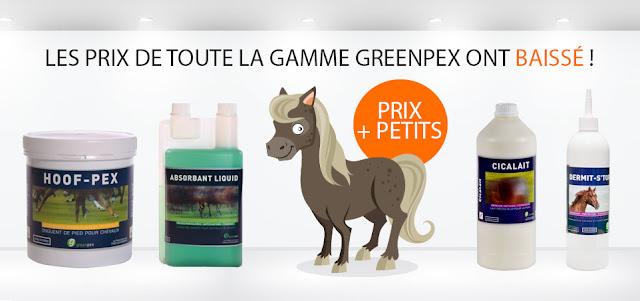 Prix en baisse chez Greenpex