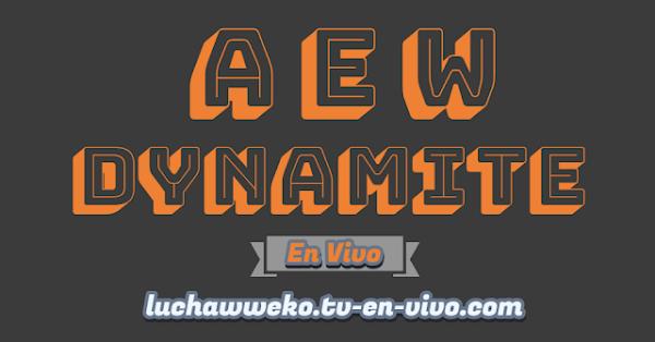 Entretenimiento-Deportivo AEW Dynamite  18 de Marzo 2020 en vivo online en español