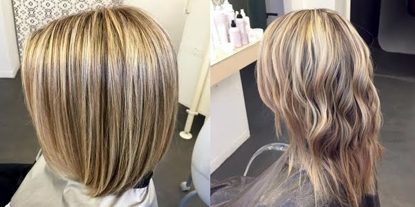 gorgeous highlights and colors