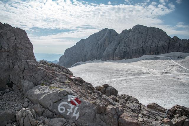 Dachstein Gletscherwanderung  Vom Dachsteingletscher nach Ramsau 06