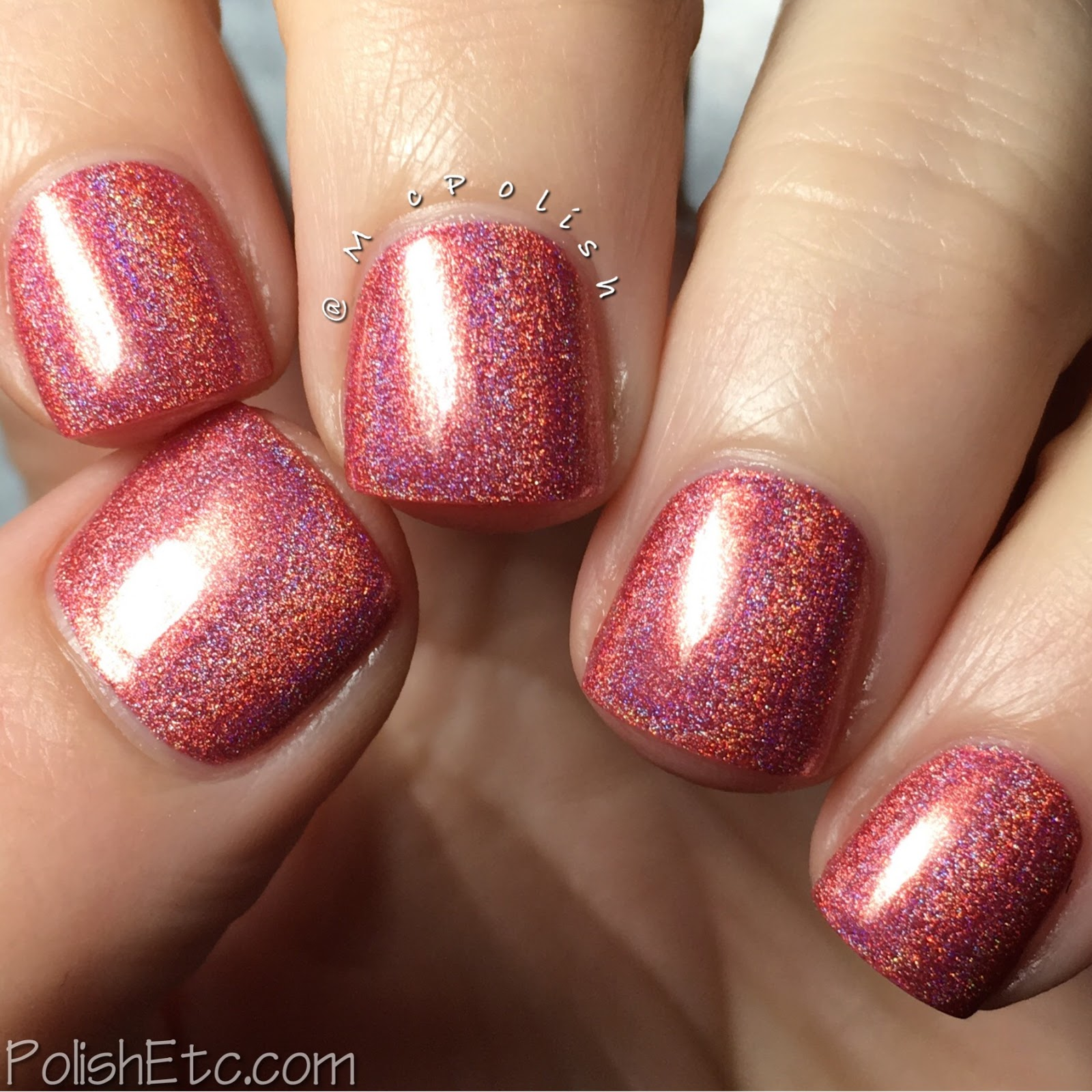 KBShimmer - Nauti by Nature Collection - McPolish - The Girl is Tiki