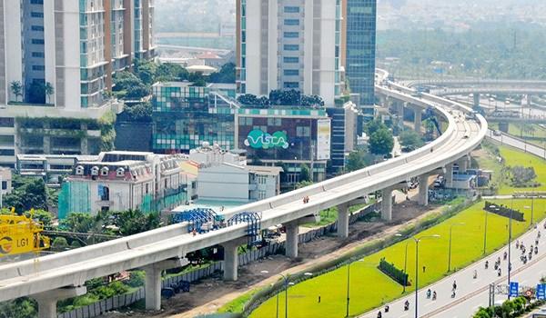 Tuyến metro số 1 dự kiến hoàn thành năm 2020