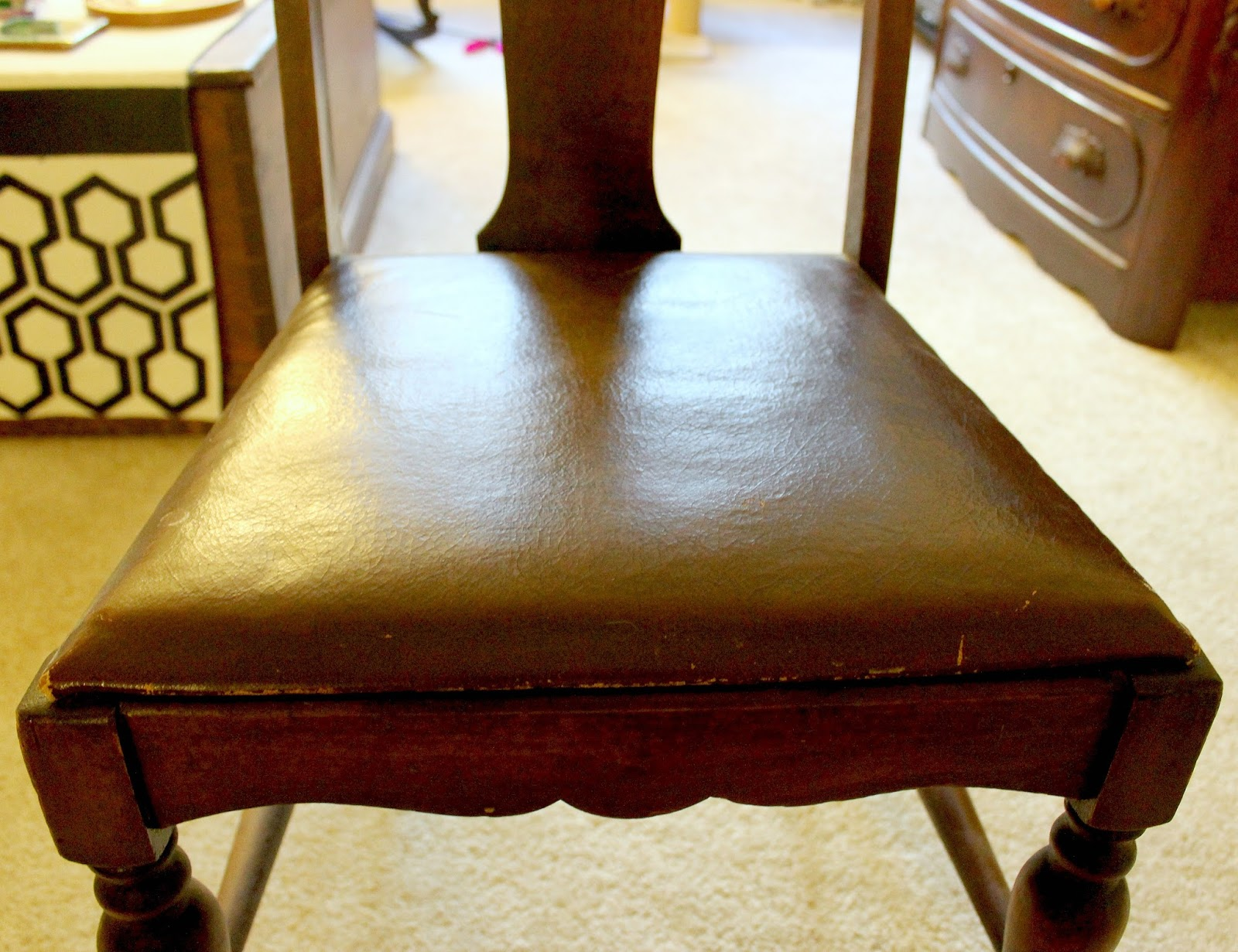 Craft A Spell Reupholstered Dining Room Chairs