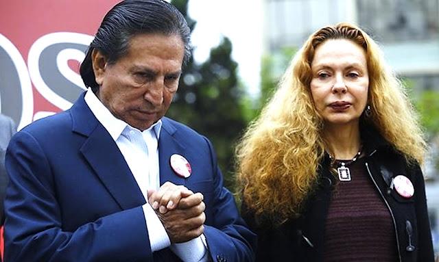Pedido de extradición de Alejandro Toledo y Eliane Karp