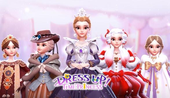 Fashions of Dress Up! Time Princess