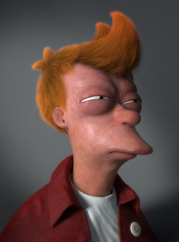 Personagens cartoon em versão realista que você não gostaria de encontrar na vida real