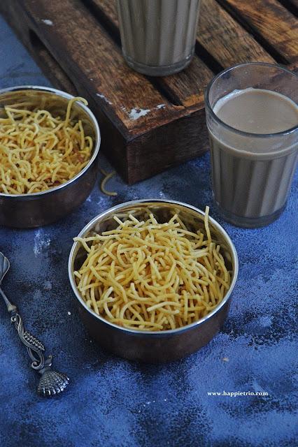 Omapodi Recipe   Sev Recipe   How to make Omapodi in Home
