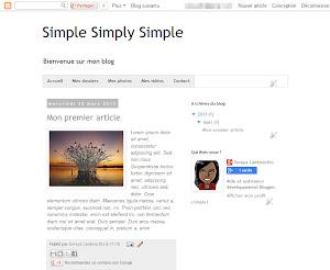 Simple Simply Simple Theme