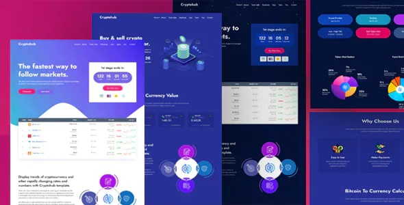 Best Cryptocurrency HTML Template