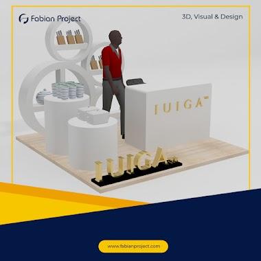 3D Design Booth | IUIGA