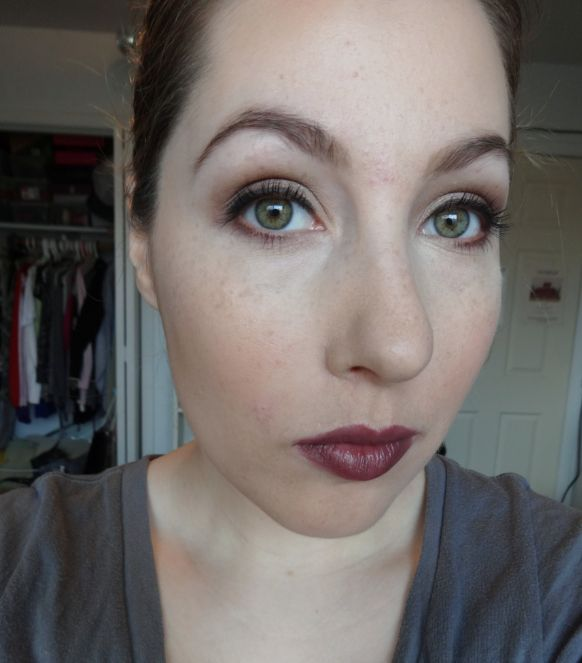 Face of the Day: Glossy Berry Lip