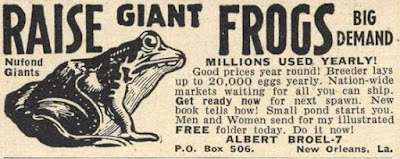 Raise Giant Frogs