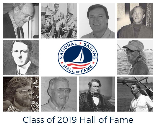 2019 National Sailing Hall of Fame Inductees