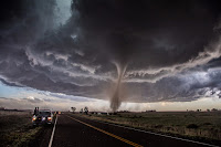 Tornado near Wray in Colorado