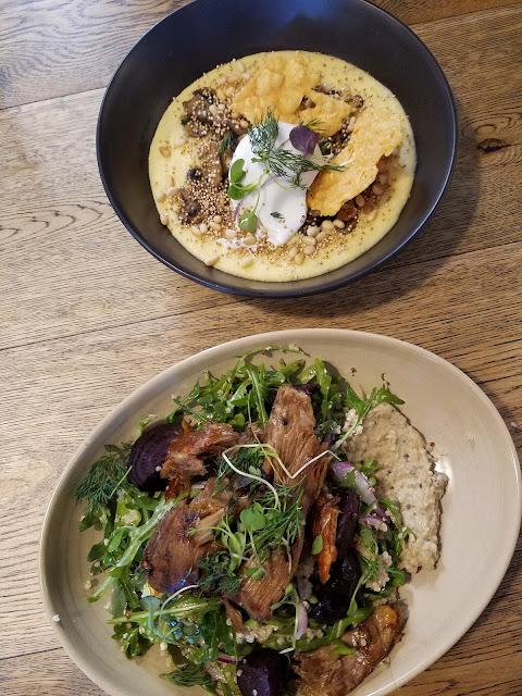 Rumour Mill, Croydon, warm lamb salad