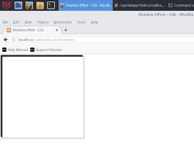 Cara Membuat Efek Bayangan Pada Teks dan Box Dengan CSS