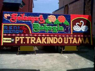 toko papan bunga Palembang