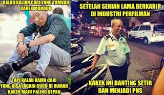 15 Meme Kocak Kakek Sugiono Buatan Para Netizen yang Bikin Ngakak