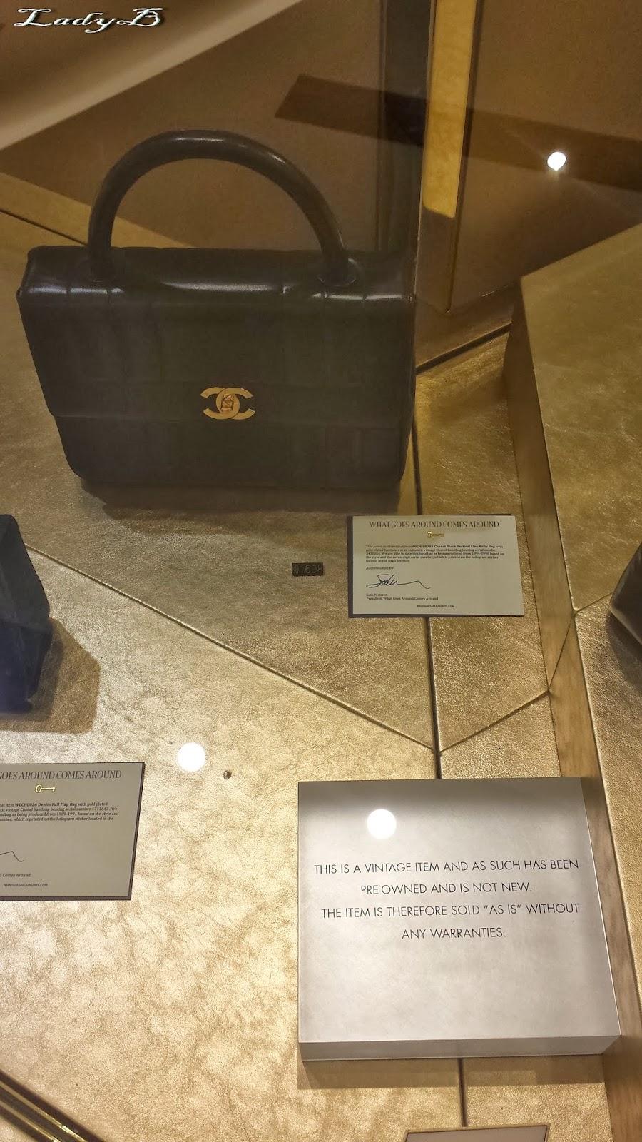 Vintage Chanel At Harvey Nichols Kuwait