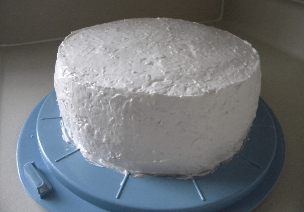 Whispersofthyme White Layer Cake With Sour Cream Coconut