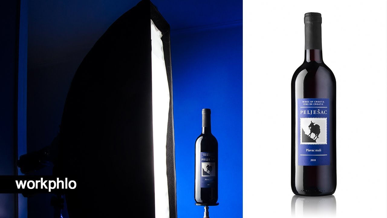 Wine Bottle Photography Tutorial: How the Table Affects the Lighting