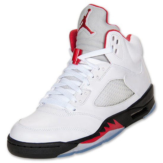 953231ab4cc4d6 The Air Jordan 5 Retro returns in 2013. Kicking things off is this original  white